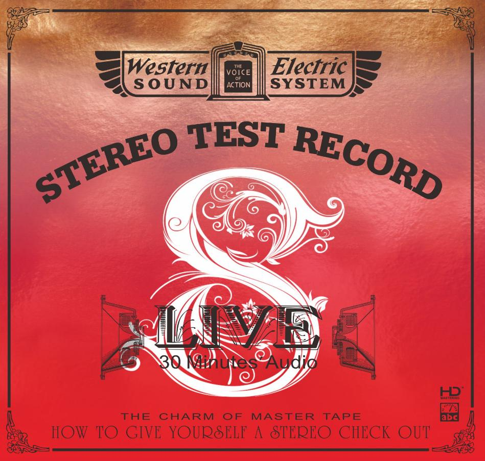 ABC Records - Live 8—30 Minutes' Audio Test CD
