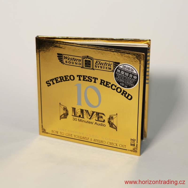 Live 10—30 Minutes' Audio Test CD