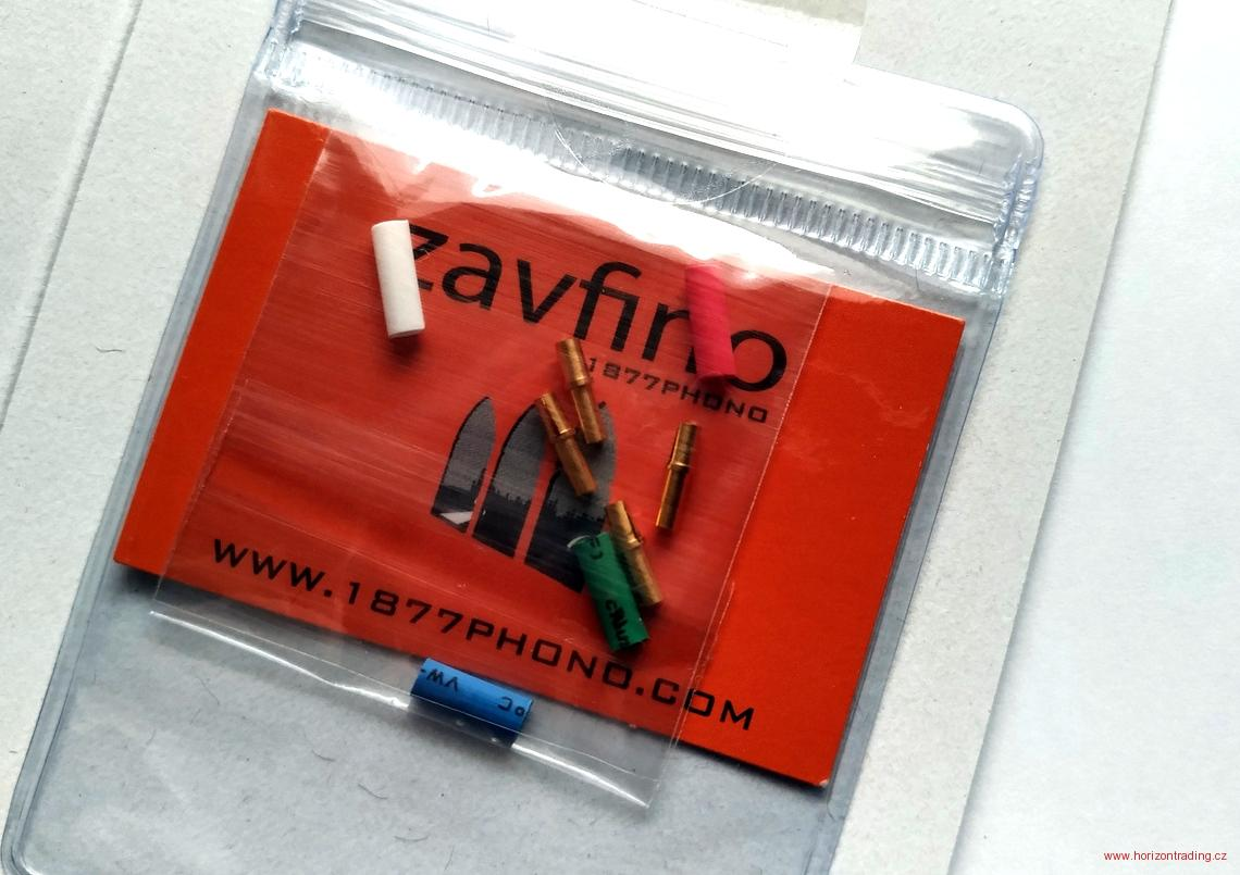 1877PHONO Zavfino -  FITclips Turntable Cartridge Clips Gold Plated