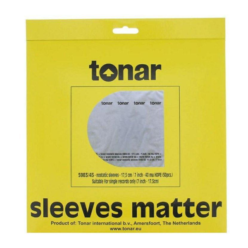 "Tonar Nostatic 7"" Sleeves"
