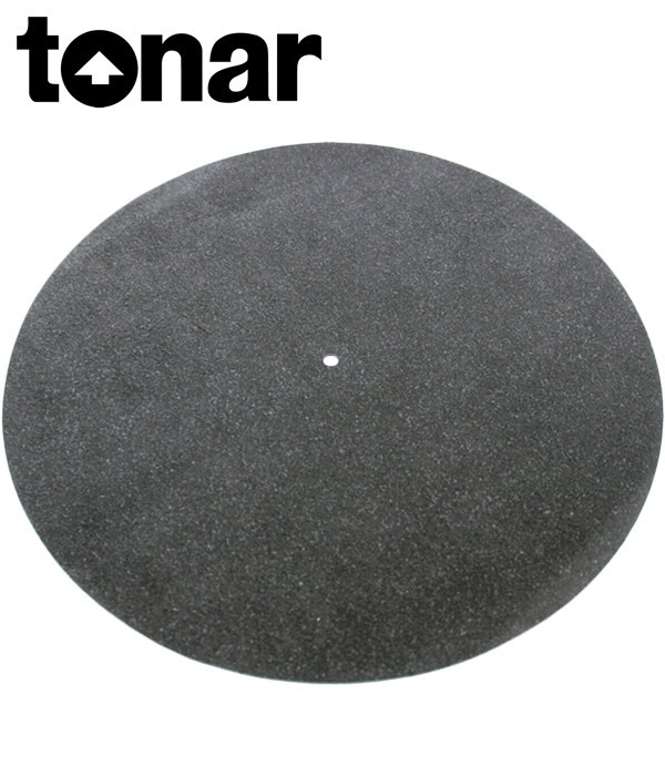 Tonar Black Leather Mat